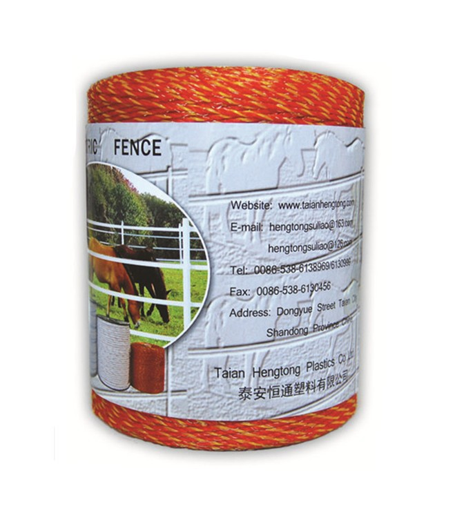 1.5mm polywire electric fence for goat sheep fence