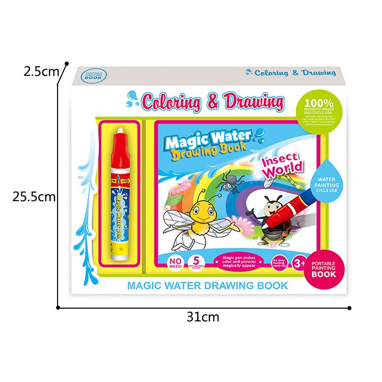 Wholesale Educational Toy Baby Drawing Set Water Painting Doodle Book