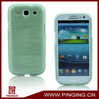 soft tpu wire drawing protective case for samsung galaxy s3 i9300