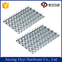 Galvanized Steel Mending Plate Single Nail Plate Stamping
