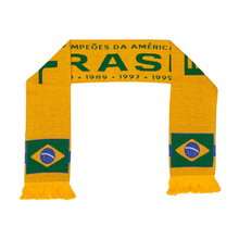 Brazil 2018 World Cup Football Scarf