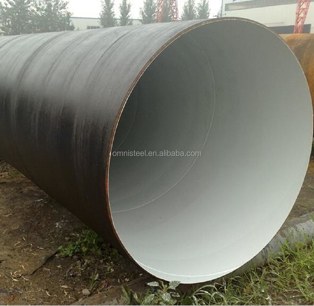 24 Inch Low Carbon Submerged Arc Welded Spiral Steel Pipe API 5L