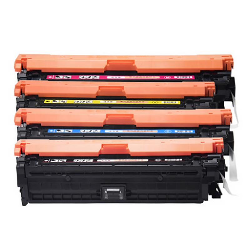 Compatible Recycled color toner cartridge 650A CE270A CE271 CE272 CE273 for hp cp5525Laserjet printer toner