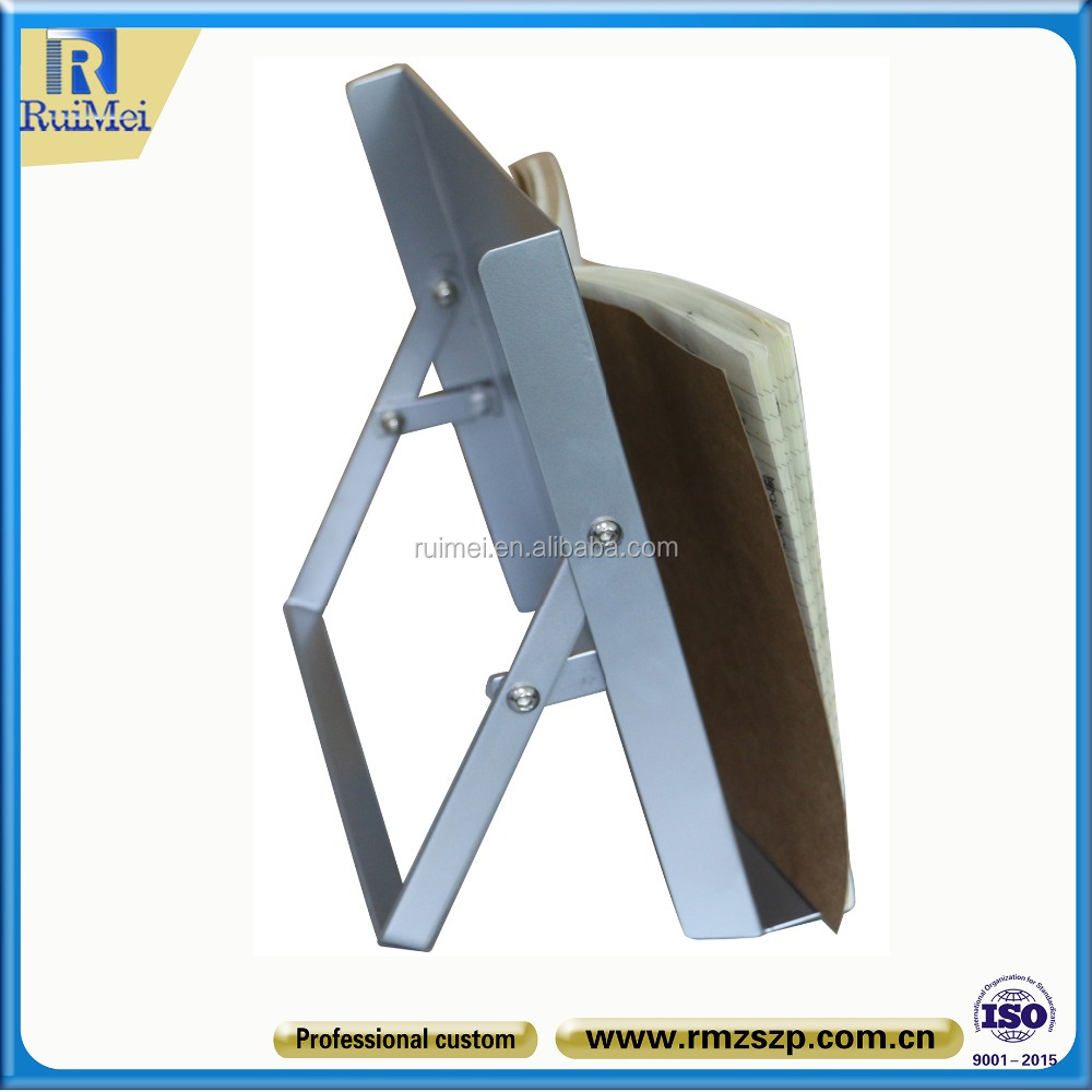 counter table volume manufacture restaurant metal menu card holder