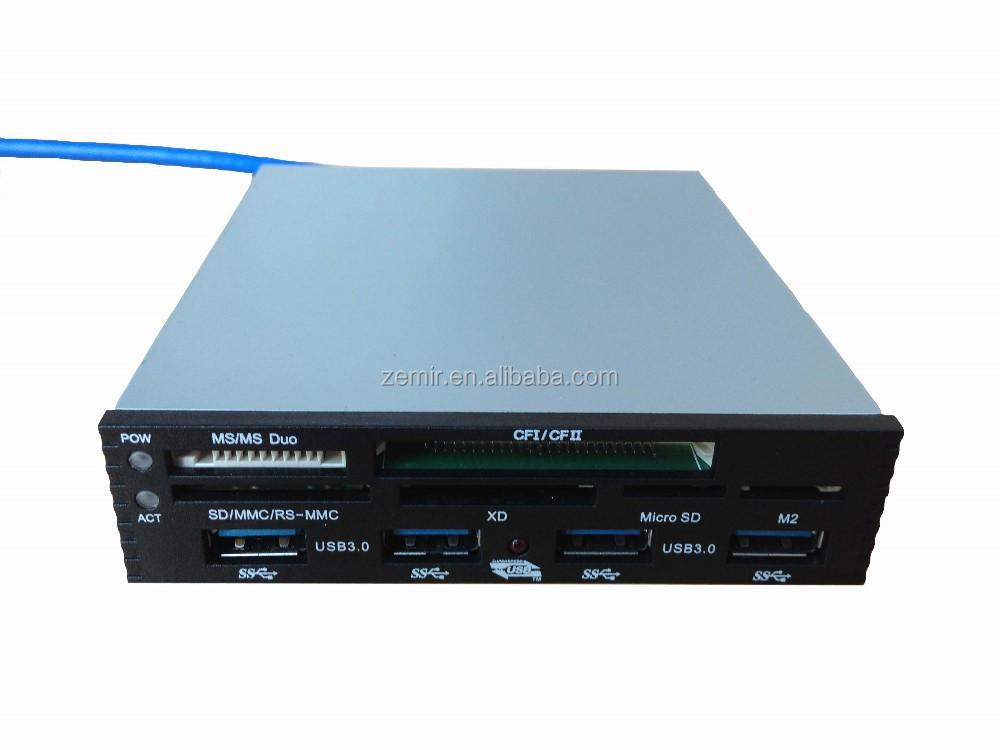 """Pci-e 3.5"""" 4 Usb 3.0 Ports Combo Hub Internal Multi Memory ..."""