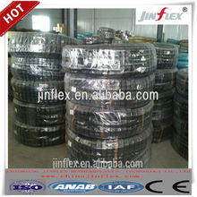 SAE 100R2AT/2SN Wire Braid Reinforcement Hydraulic Rubber Hose and fittings