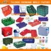 2015 Plastic Packaging collapsible plastic crates for milk storage (good quality)