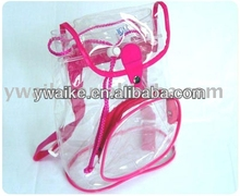 promotional pvc bag/ backpack bags