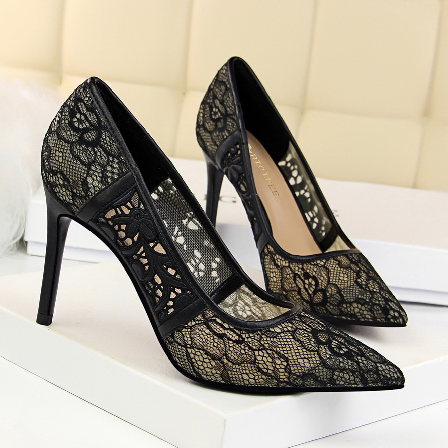 Hot Sale Women Dress Shoes Ladies Sexy High <strong>Heels</strong>