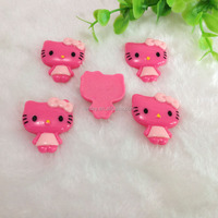 Wholeasale Loose Cute Fashion 22*33MM Flatback Hello Kitty Resin Cabochons
