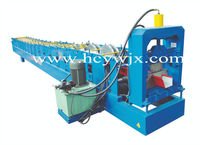 Metal downspot gutter making machine