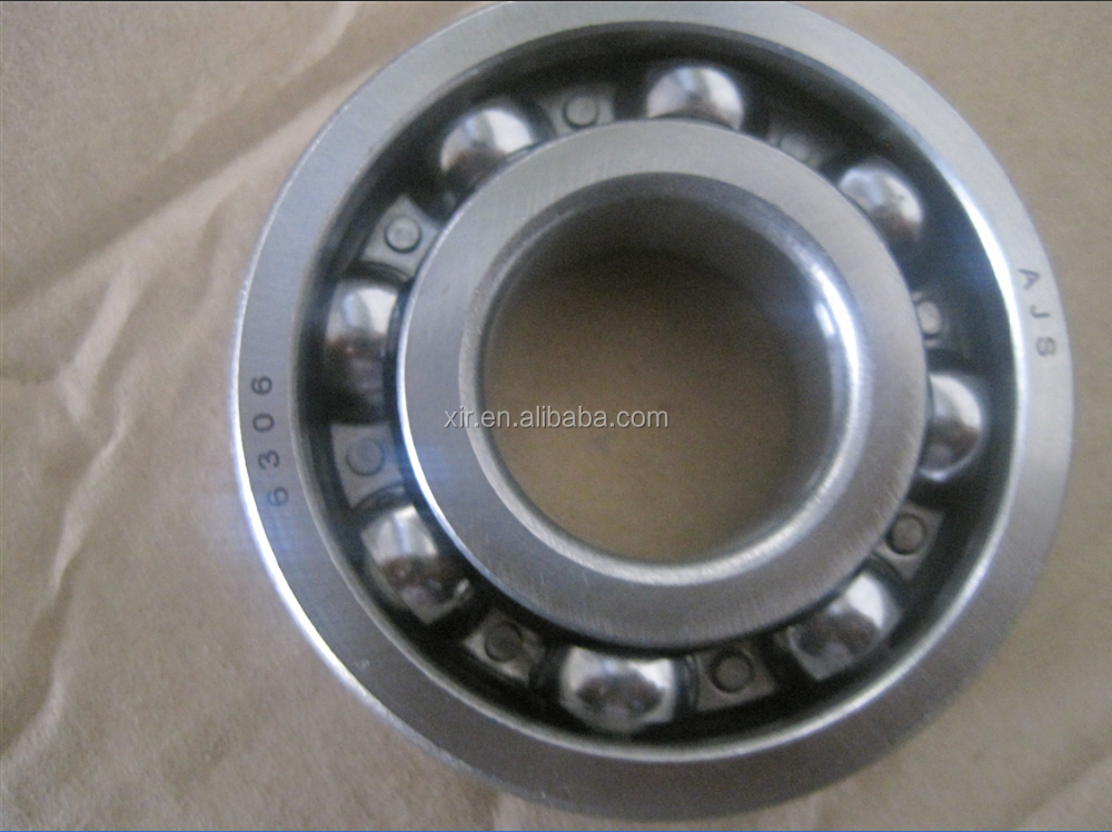 OEM deep groove ball bearing 6306 chrome steel bearing ABEC-1