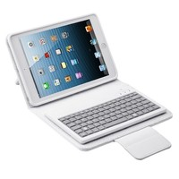 For ipad PU Leather keyboard for ipad mini /mini 2 bluetooth keyboard
