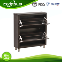 Popular Design BSCI Approved Factory Cost Effective Wooden Shoe Storage Cabinet