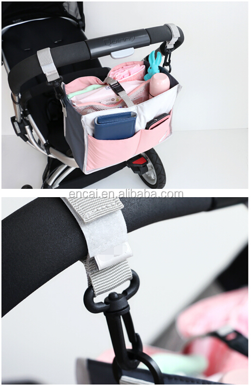 Encai New Design Mommy Diaper Bag Organizer Fashion Hanging Baby Organizer Bags Inserts