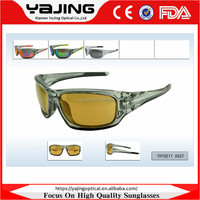 Unisex Yellow Lens Night Vision Glasses