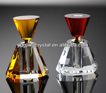 India 3-6ml Crystal glass Perfume Bottle for promotion gift