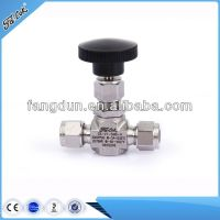 Stainless steel needle valve,manual power needle valve