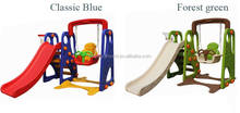 Best Price Kids Plastic Swing And Slide Set