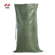Chinese manufacturer provide 25kg UV resistant PP sand bags polypropylene sand sacks bag