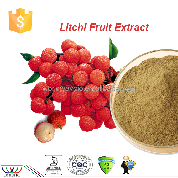 Free sample ! litchi peel extract/ litchi bark PE lychee juice powder 5:1 , litchi chinensis extract 5:1
