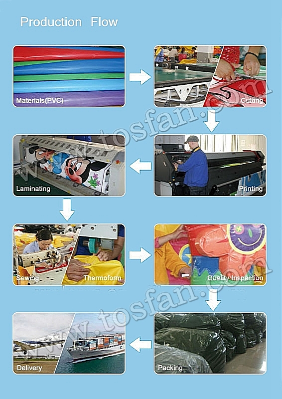 Outdoor funny kids and adults inflatable sticky wall A6025