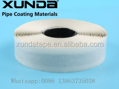 Waterproof double sided butyl rubber sealing tape black or gray color adhesive available