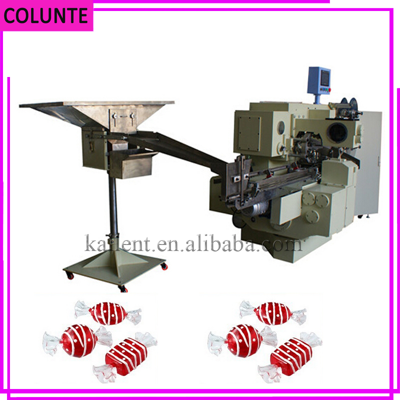 Henan automatic double twist candy wrapping packing machine price
