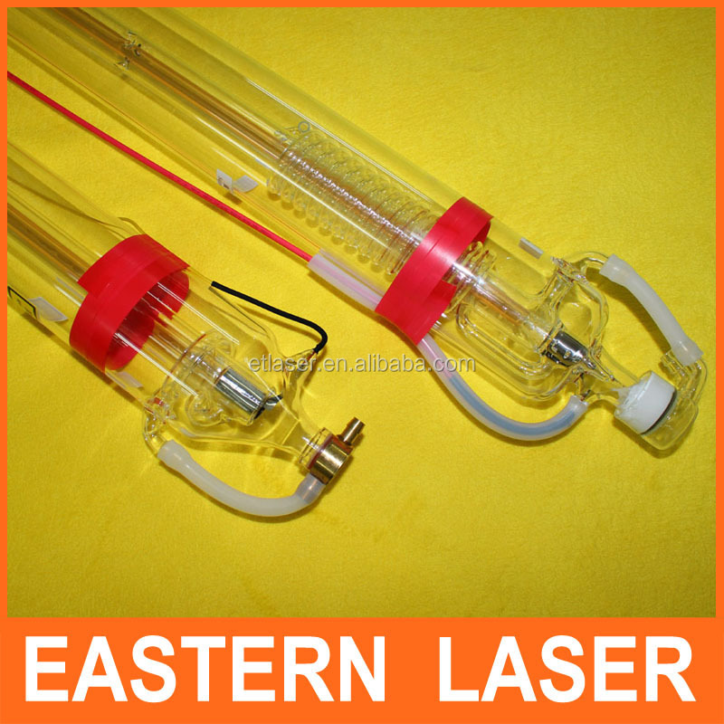 Length 1200mm 60W Hene CO2 Laser Tube