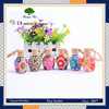 10ml/15ml/18ml beautiful craft polymer clay glass bottle hanging car perfume