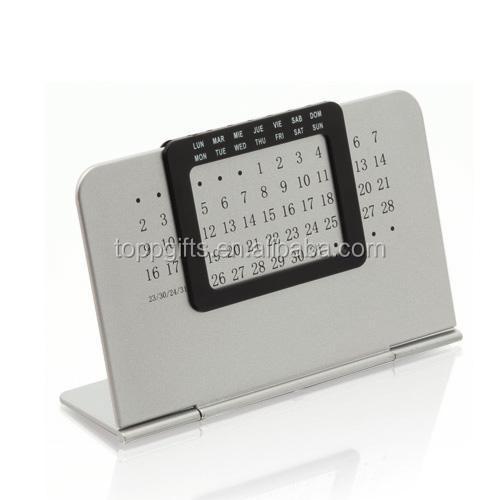 Perpetual Calendar Desk : Perpetual metal desk calendar buy