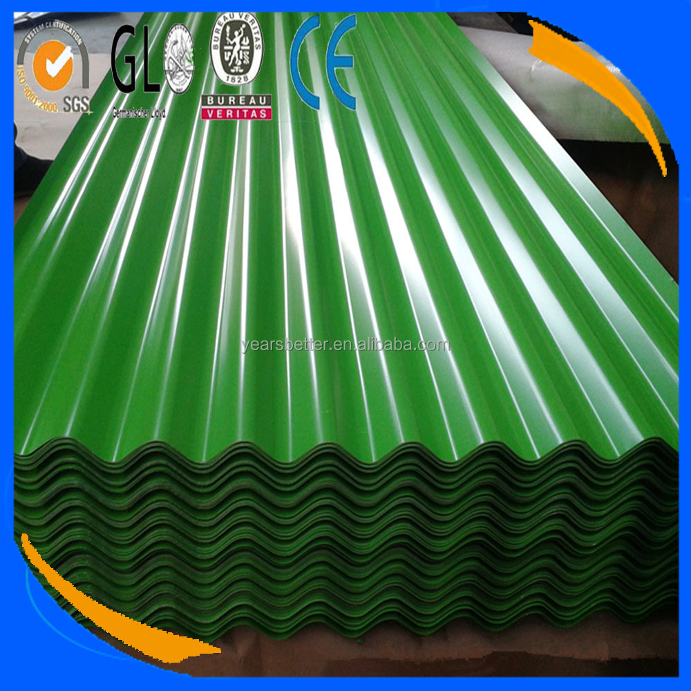 pre painted g40 galvanized roofing sheet dx51d / ppgi ppgl corrugated metal plate / corrugated sheet price philippines
