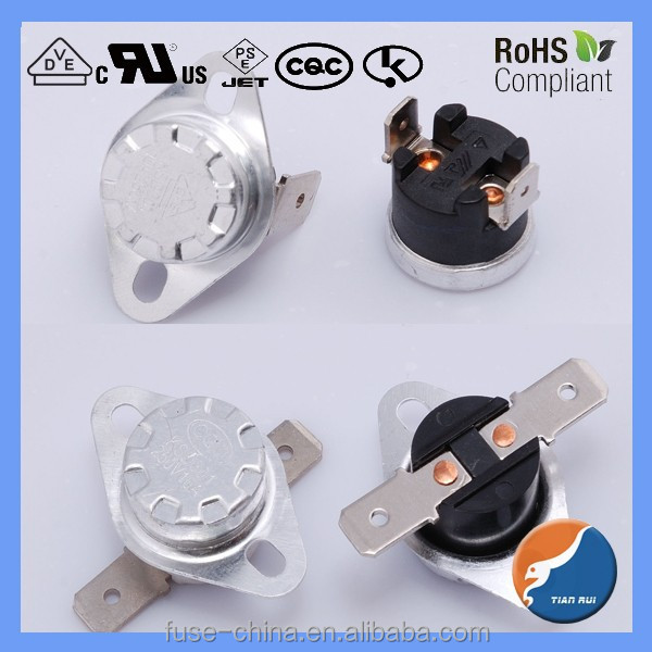 KSD301 250v 5a water heater thermostat