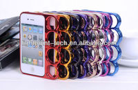 for Apple iPhone 5 /4 Ring knuckles Frame Case