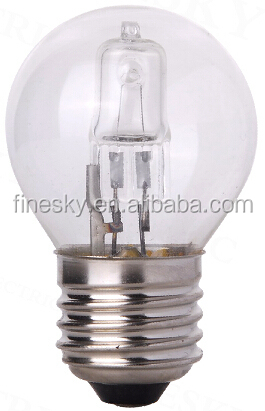G45 halogen energy saving bulb