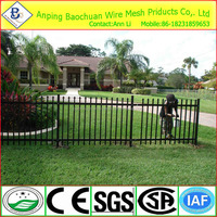 aluminum profile steel fence