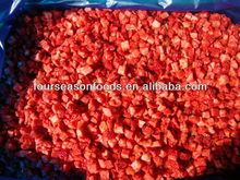 IQF frozen strawberry dices 2015 crop