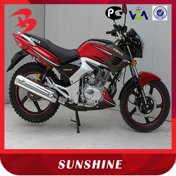 Popular New Design 4-Stroke Gas Powered Tiger 200CC Motorcycle