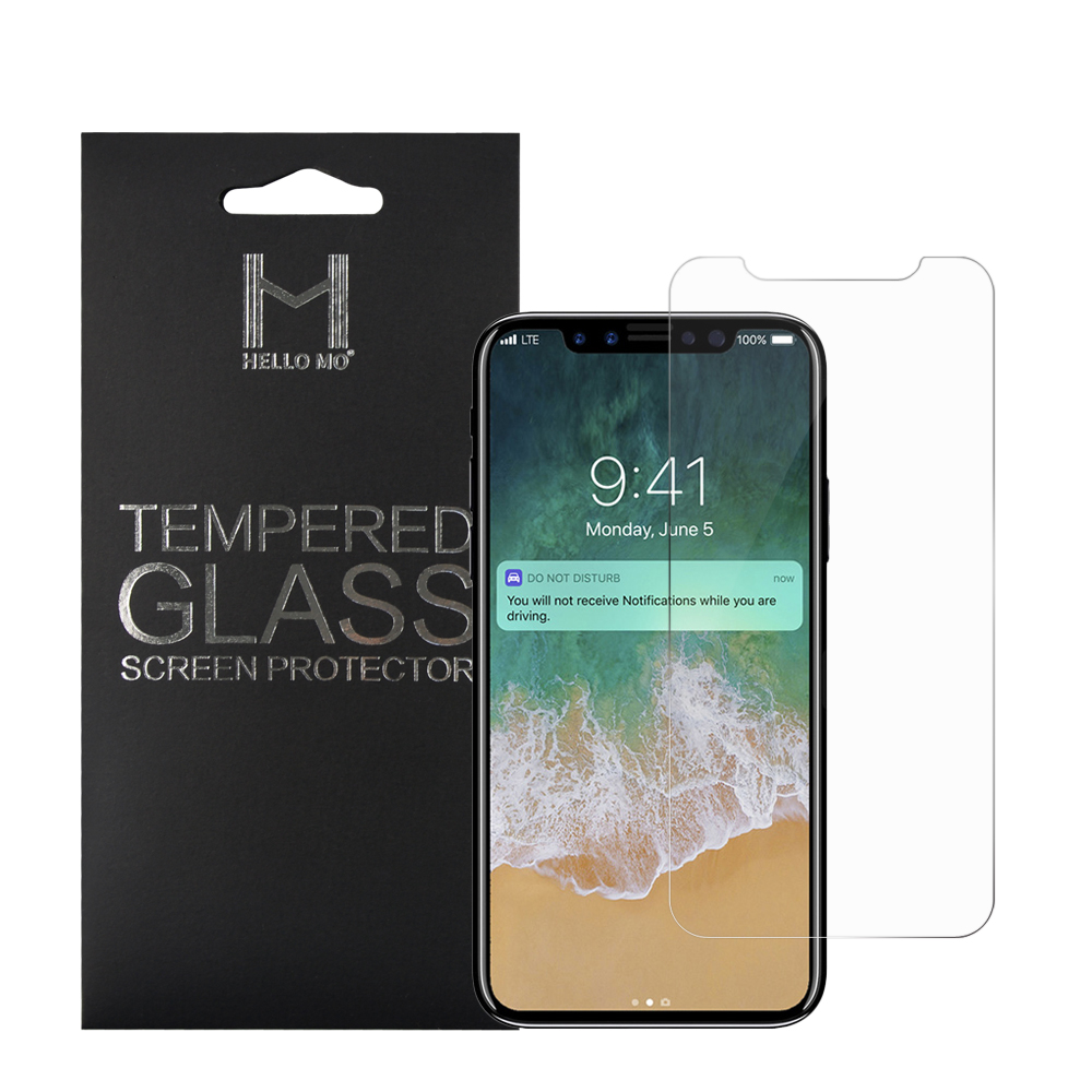 Fast delivery 9h explosion-proof film toughened membrane tempered glass screen protector for iphone X