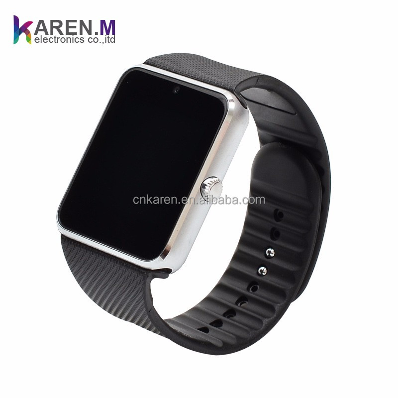 2016 High quality waterproof android hand watch mobile phone GT08 Factory Supply Low Price
