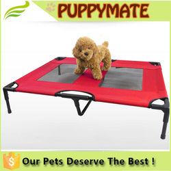 Manufacturer steel frame elevated outdoor pet dog bed at all seasons dog bed