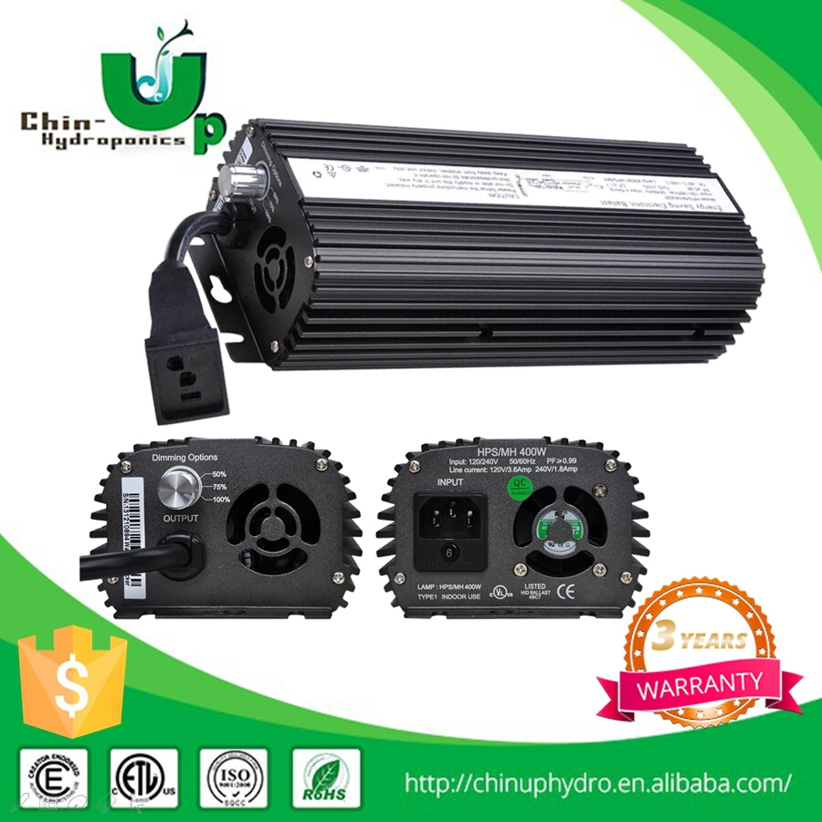 250w 400w 600w 1000w hydroponics grow light digital electronic ballast with fan