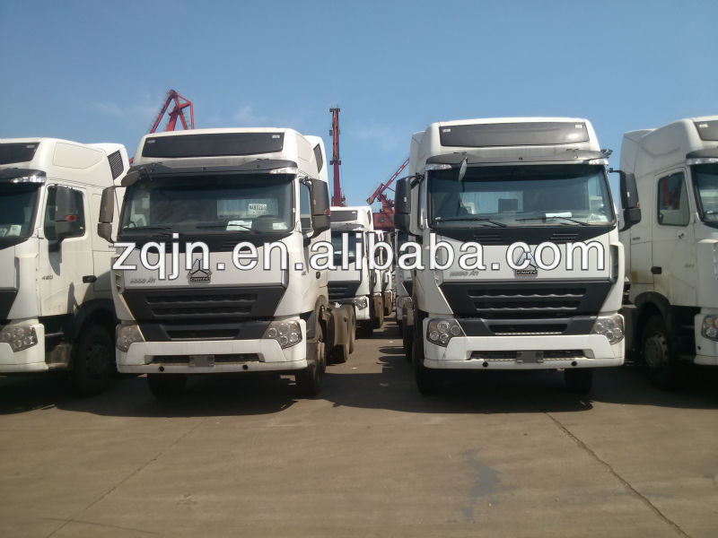 New Diesel Vehicles HOWO A7 Prime Mover China Truk Three Wheels