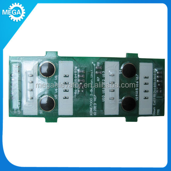 Kone elevator button board ,PCB-K-Delta for kone KM612910G01