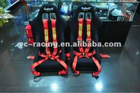 New Style High Quality 3'' Sabelt 6-Point Racing Seat Belt Harness (FIA Approved)
