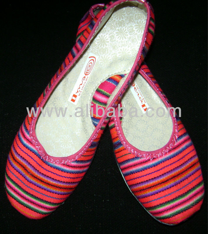 ETHNIC PERUVIAN SHOES - BALLERINAS
