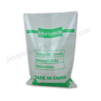 Industrial use white pp woven chemical resistant packaging bag sakc 25kg