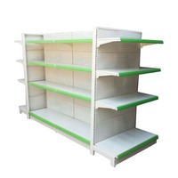 Customize Metal Store Shelves Grocery Rack Display Supermarket Shelf wholesale