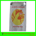 Arjie V-Bottom Aluminum Foil Fast Food Paper Bag for Fried Chicken
