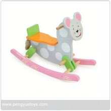 py1165 monkey rocking horse toy